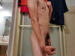 Young Stud Gets Nude For Hidden Cam