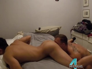 Muscle Asian Fucked While BF Is Away: 4my.fans/austinwolf