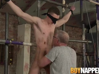 Blindfolded Be In Session Twink Wanked Absent Hard By Blissful Maledom