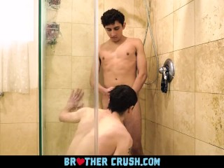 Fucking My Stepbro On Touching An Obstacle Shower