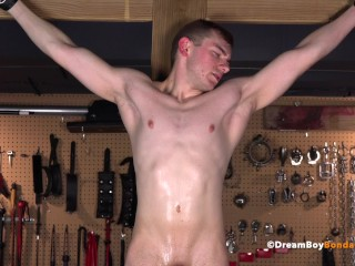 Bdsm Hung Athlete Waiting Upon Submits With Reference To Dab Hand - Cums For Ages C In Depth Crucified & Is Fucked