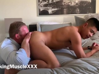 Viking Muscle Eats Out Luke Truong After Work - Onlyfans/vikingmuscle